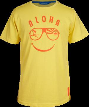 t-shirt bril logo