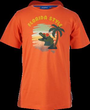 t-shirt krokodil logo