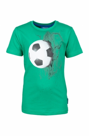 t-shirt voetba logo