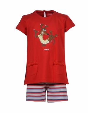 pyjama meisjes km logo