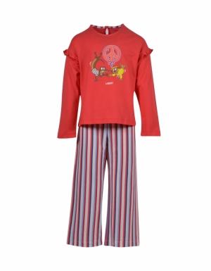 pyjama lm meisjes logo