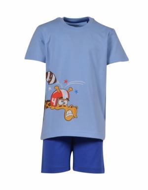 pyjama km grote tekening logo