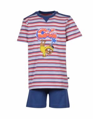 pyjama km streep t-shirt logo