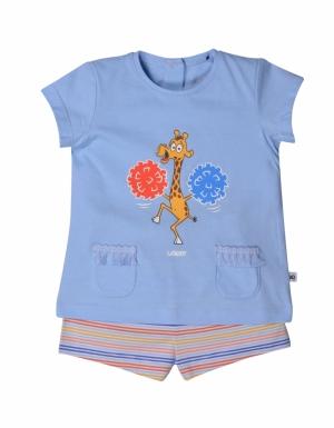 pyjama km meisjes logo