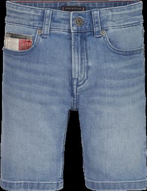 Short jeans logo