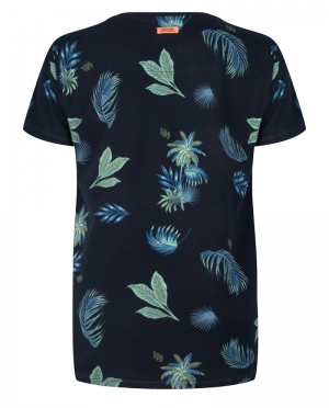 T-shirt palm print logo