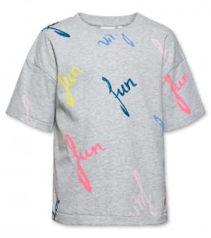 t-shirt oversized FUN logo