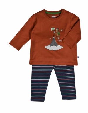 Jongens pyjama logo