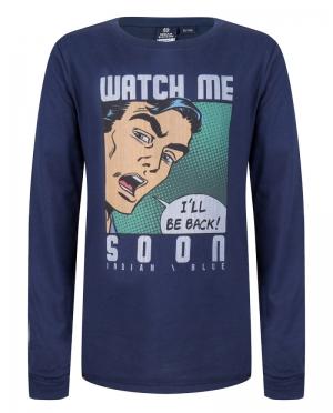 T-shirt Watch me logo