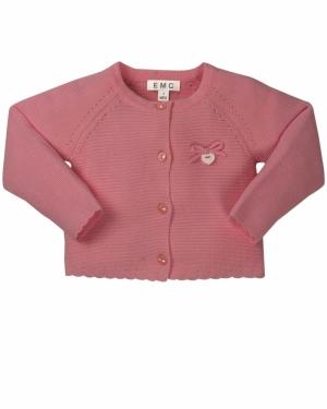 Gilet tricot logo