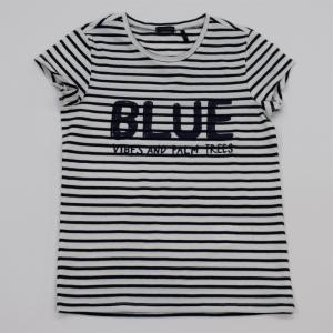 T-shirt marine streep. logo