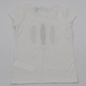 T-shirt opduk . blac casse