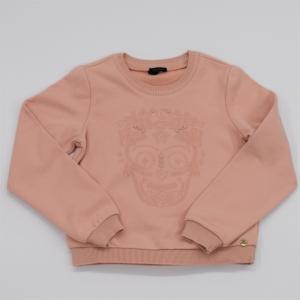 Sweater molleton. logo