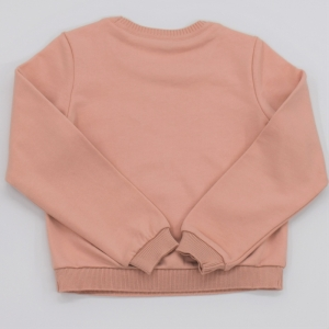Sweater molleton. hibiscus