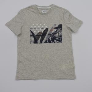 T-shirt surf planken. logo