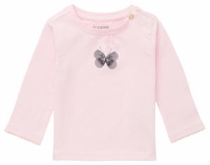 T-shirt vlinder. logo