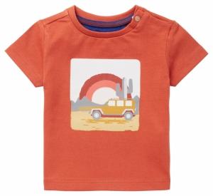T-shirt regenboog. logo