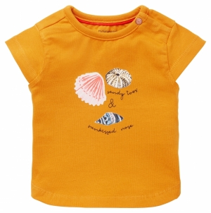 T-shirt schelpjes. logo