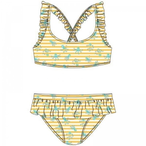 Bikini gestreept logo