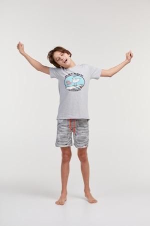 Jongens pyjama, broek met touw logo