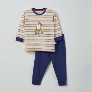 Pyjama unisex lange mouwen logo