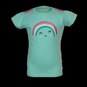 T-shirt regenboog logo