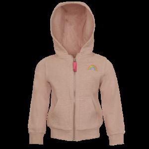 Sweater gilet regenboog logo