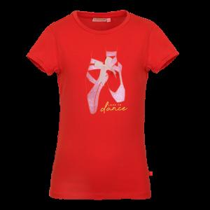 T-shirt balletschoenen logo