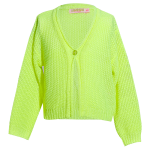 Gilet tricot fluo logo