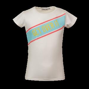 T-shirt GET OVER IT logo