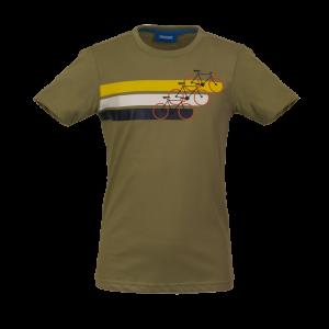 T-shirt fietsen logo