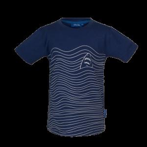 T-shirt haai. logo