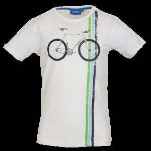T-shirt fiets logo