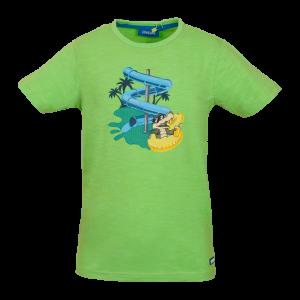 T-shirt glijbaan logo