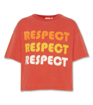 T-shirt oversized RESPECT logo