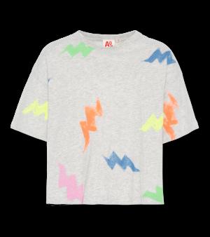 T-shirt oversized multicolor logo