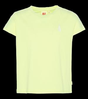 T-shirt fluo pineapple logo