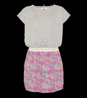 Kleed, rok gebloemd logo
