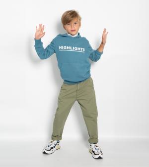 Sweater met kap HIGHLIGHTS logo