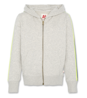 Sweater gilet rits logo