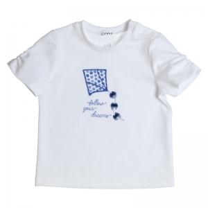 T-shirt embroidery KITE logo