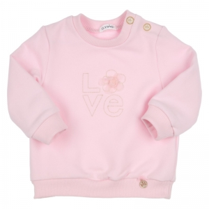 Sweater LOVE embroidery logo