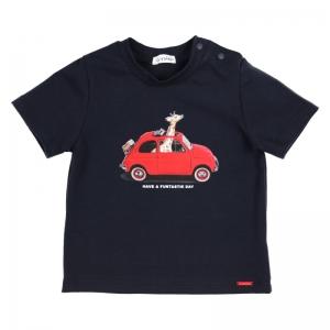 T-shirt GIRAFFE logo