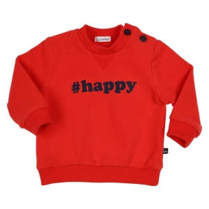 Sweater #HAPPY logo