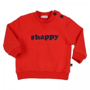 Sweater #HAPPY logo