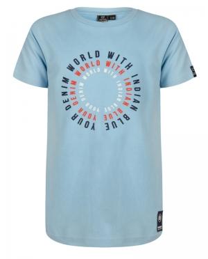 T-shirt DENIM WORLD logo