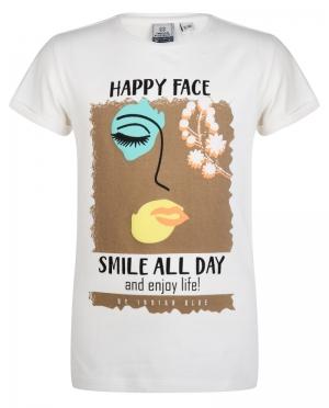 T-shirt HAPPY FACE logo
