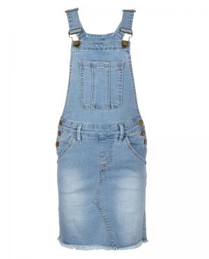 Salopette kleed jeans logo