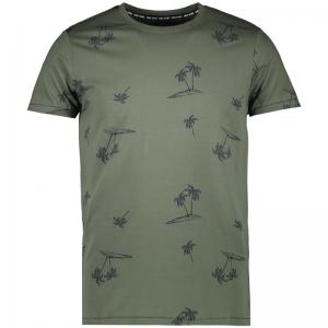 T-shirt palmbomen logo