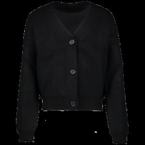 Gilet tricot 01/black